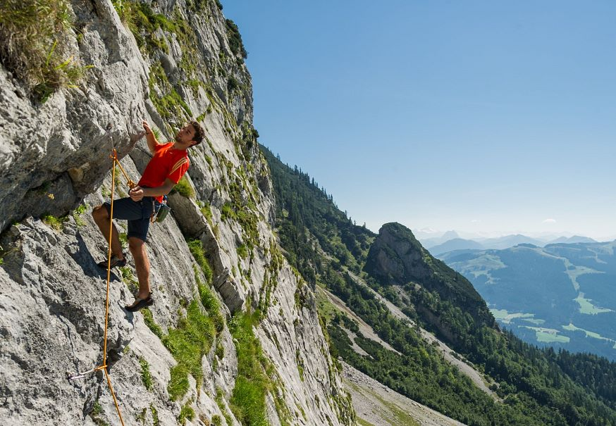 Mountain holiday Climbing holiday for beginners